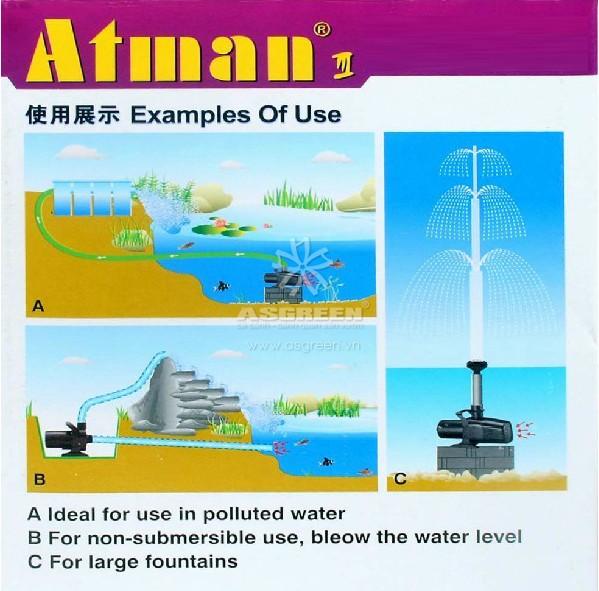 Máy bơm bể cá Atman MP-5500 4