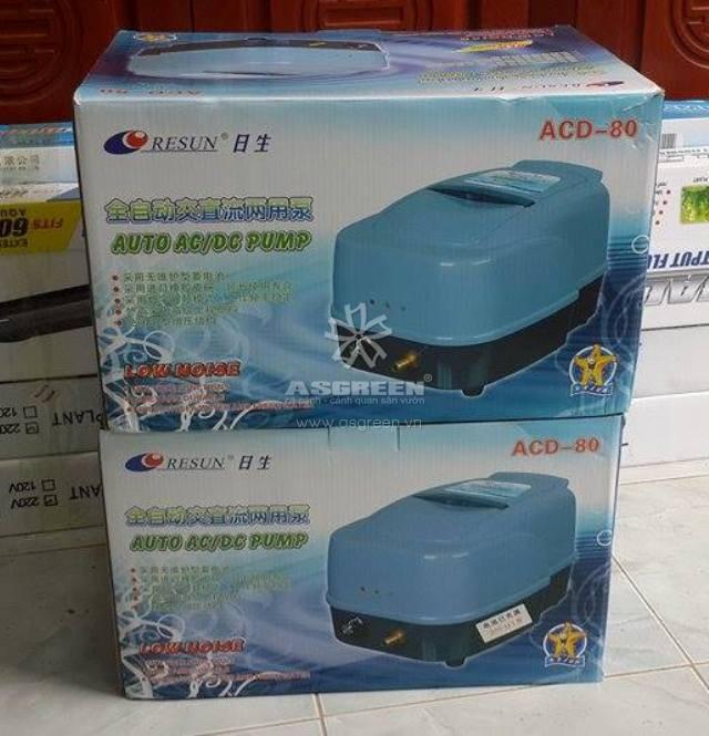 Máy sục khí tích điện Resun ACD-80 3