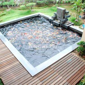 Mẫu hồ cá Koi hiện đại 3
