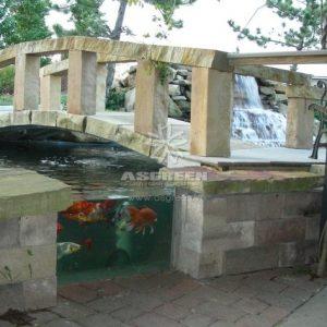 Mẫu hồ cá Koi hiện đại 9