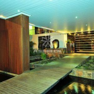 Mẫu hồ cá Koi hiện đại 13