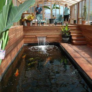 Mẫu hồ cá Koi hiện đại 38
