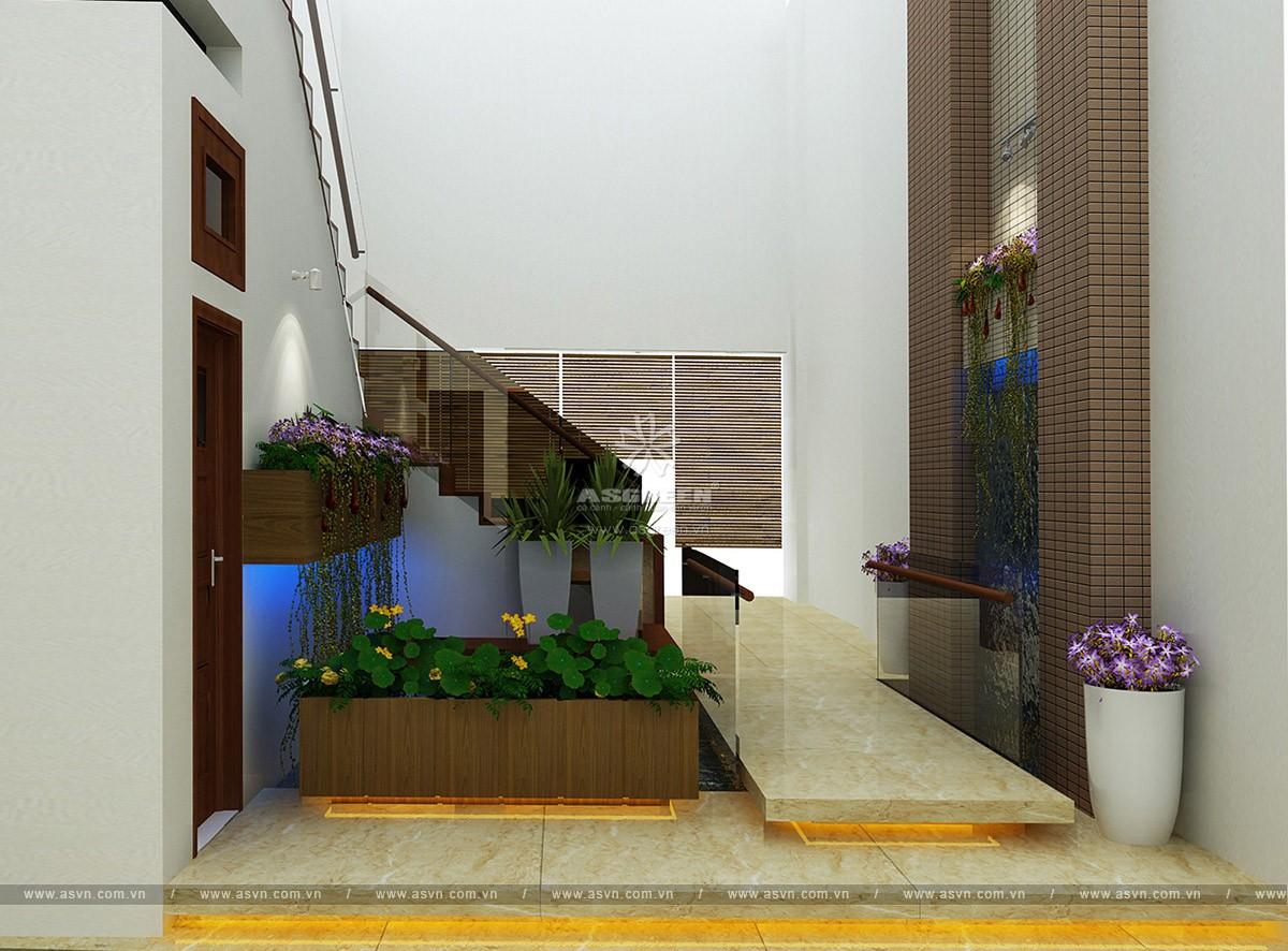 ho-koi-tieu-canh-trong-nha-mr-truong (3) Thiết kế hồ cá koi, tiểu cảnh trong nhà - Mr Trường, Hà Nội
