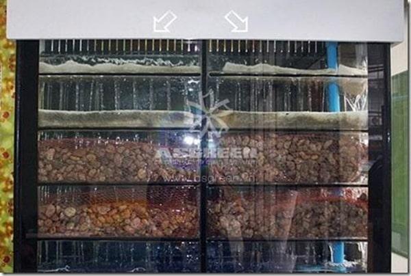Cấu tạo của bộ lọc nhỏ giọt hồ cá koi