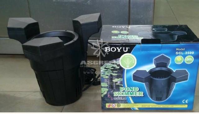Phễu lọc nước mặt hồ koi Boyu SCL 2500 2