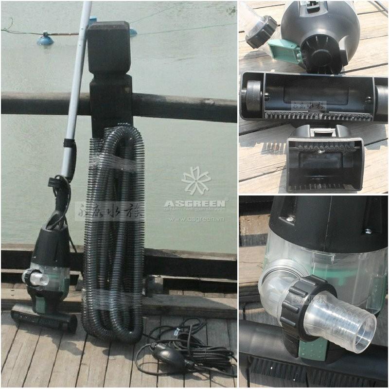 Máy vệ sinh đáy hồ koi Jebao PC-1 Pond Vacuum Cleaner Vac 3