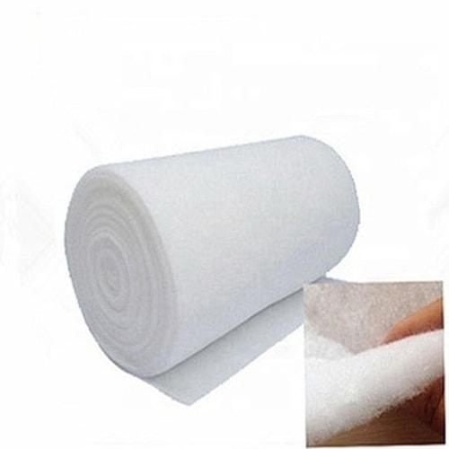Bông lọc là vật liệu thường được sử dụng trong lọc thô