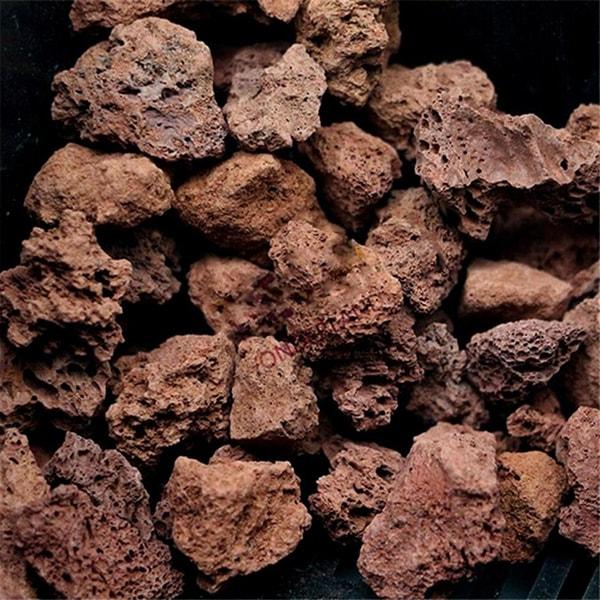 Nham thạch được khai thác từ núi lửa được sử dụng để lọc nước