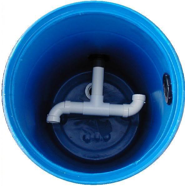 Lắng phân cho hệ lọc 3 thùng