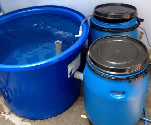 Tank nhựa tròn có nhiều loại với dung tích chứa khác nhau